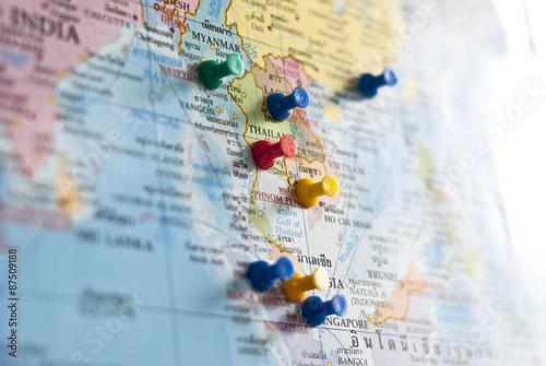 Cuadros en Lienzo Pins on travel destination