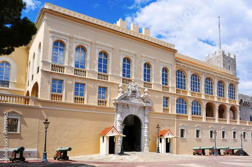 Princes Palace of Monaco in Monaco-Ville, Monaco