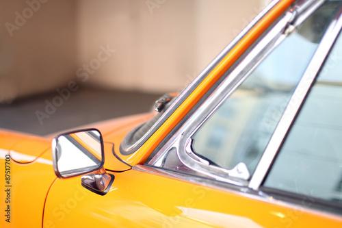 Photo  oranger Oldtimer Sportwagen