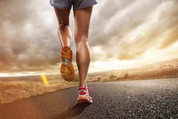 Panel Szklany Bieganie Jogging