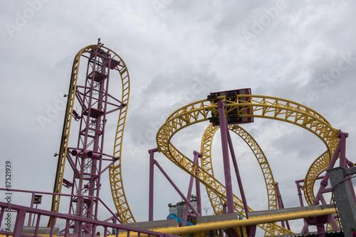 Recess Fitting Amusement Park Achterbahn