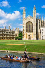 Kings College In Cambridge Uni...
