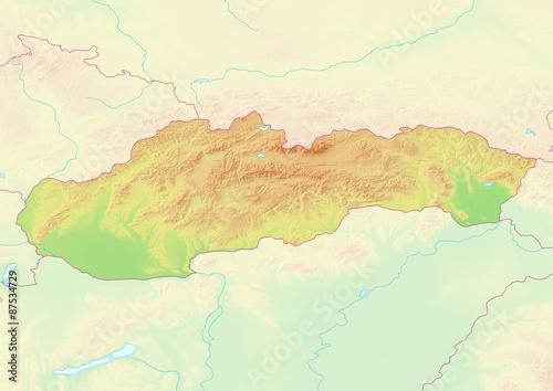 Südamerika Karte Ohne Beschriftung.Karte Der Slowakei Ohne Beschriftung Kaufen Sie Diese Illustration