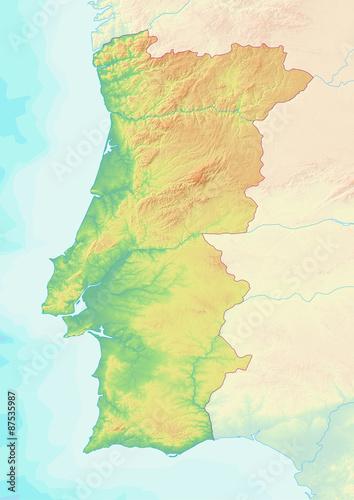 Südamerika Karte Ohne Beschriftung.Karte Von Portugal Ohne Beschriftung Kaufen Sie Diese Illustration