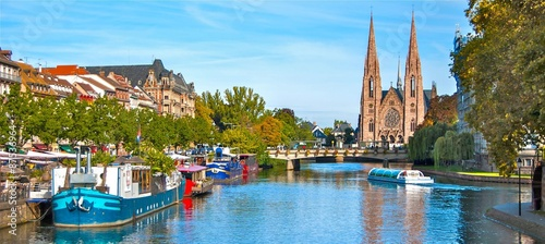 Strasbourg, Alsace, France Canvas Print