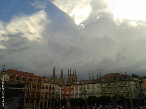 Fotografie, Obraz  Centro de Burgos