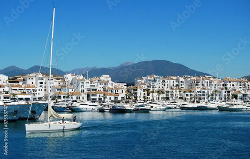 Puerto Banús, Marbella, Málaga, Andalucía