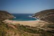 Zorkos beach on Andros island, Greece