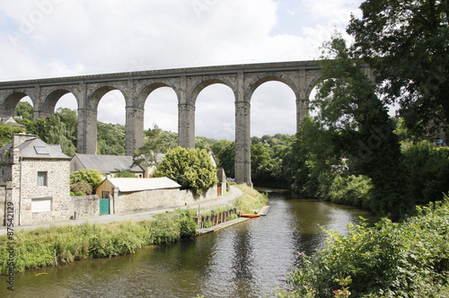 Fotografie, Tablou  pont sur la Rance