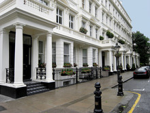 Typical Upper Class London Victorian Townhouses