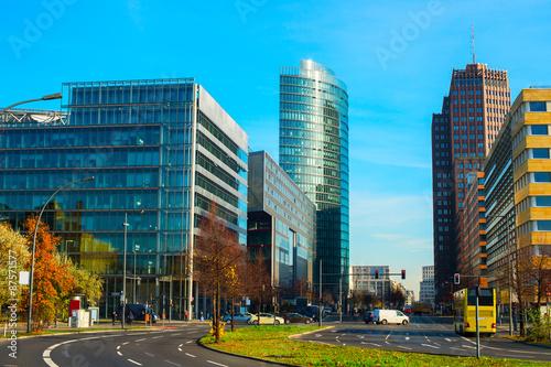 Fotografie, Obraz  Potsdamer platz, Berlin
