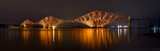 The Forth Bridge, Edinburgh, Scotland - panorama
