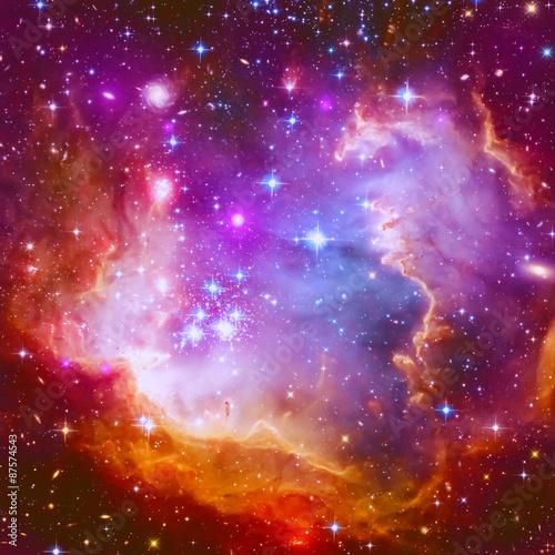 Flaming Star Nebula Poster