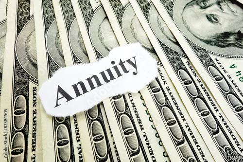 Photo Annuity note