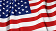 High Quality 3D USA Flag