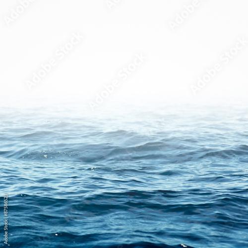 Autocollant pour porte Eau Sea wave close up