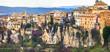 Cuenca- medieval town on rocks, Spain