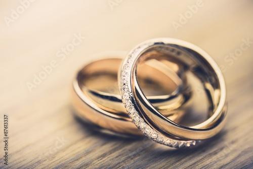 Fotografie, Obraz  Ring, bands, proposing.