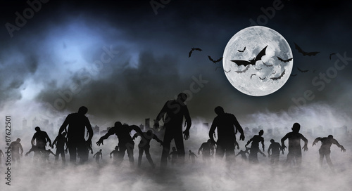 halloween festival illustration and background #87622501