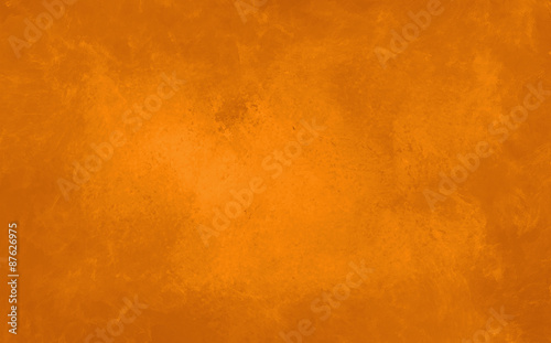 Spoed Fotobehang Halloween orange marbled background texture. Autumn background. Halloween background.