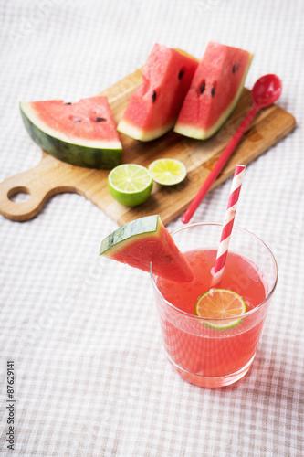 Foto op Canvas Restaurant Watermelon drink
