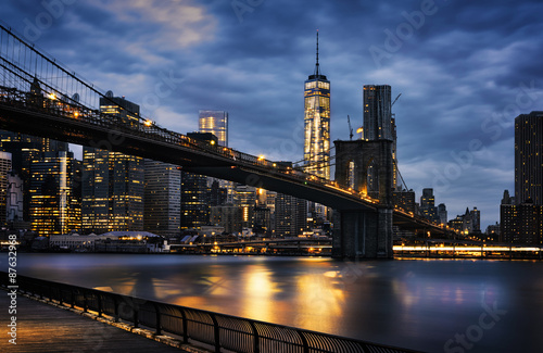 Poster New York TAXI New York City lights