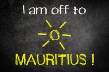 I Am Off To Mauritus Concept W...