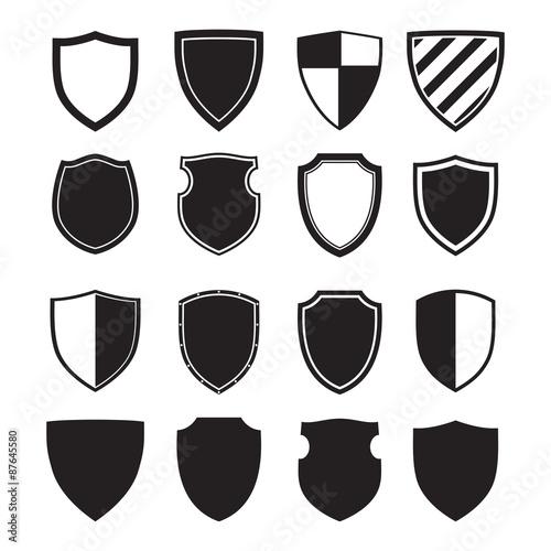 Fotografie, Obraz  Shield silhouettes