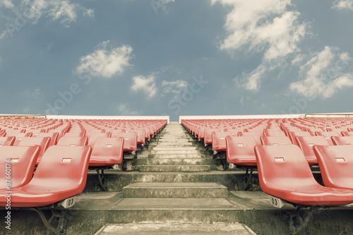 Foto op Plexiglas Stadion Empty seats at the Stadium