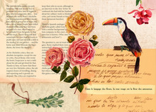 Vintage Style Collage