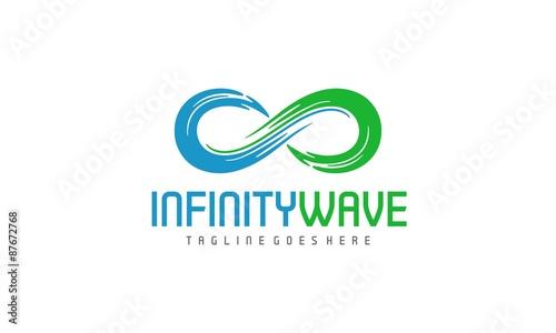 Fotografia  Infinity Wave Logo