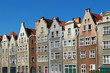 Old buildings in downtown Gdansk, Poland