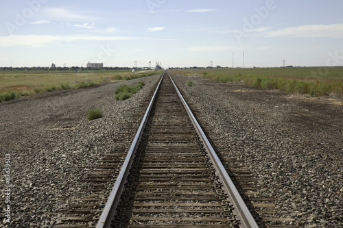 Railroad Railroad Tracks