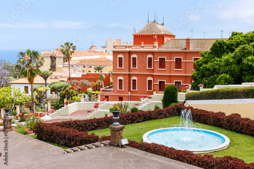 Fotografia  Botanical garden in La Orotava town, Tenerife, Canary Islands
