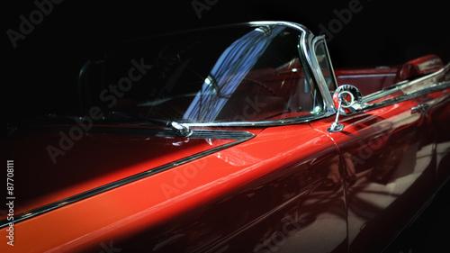 Keuken foto achterwand Vintage cars Old classic car.
