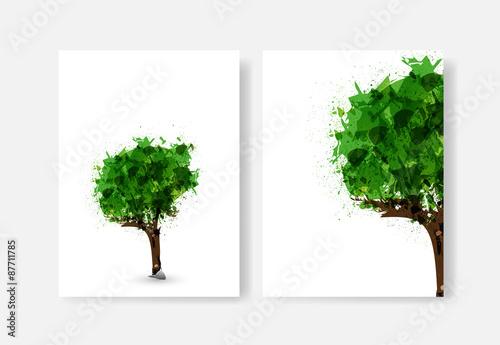 Fotografie, Obraz  Tree of life illustration, easy editable
