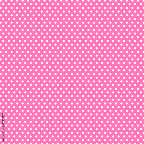 Photo  Pink dot Background great for any use. Vector EPS10.
