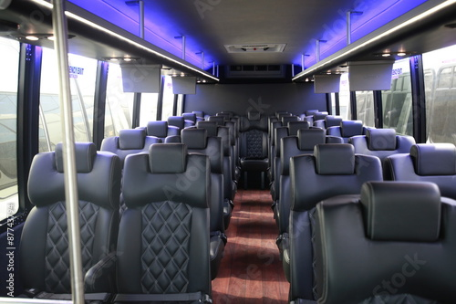 Photographie  limousine bus