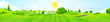Leinwandbild Motiv Green Landscape