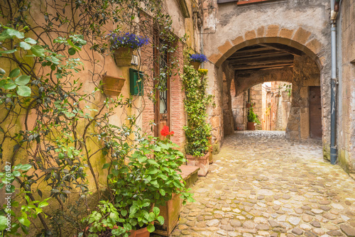 Fototapety, obrazy: Corners of Tuscan medieval towns in Italy