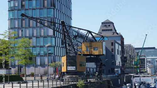 Valokuva  Kräne im Rheinauhafen Köln
