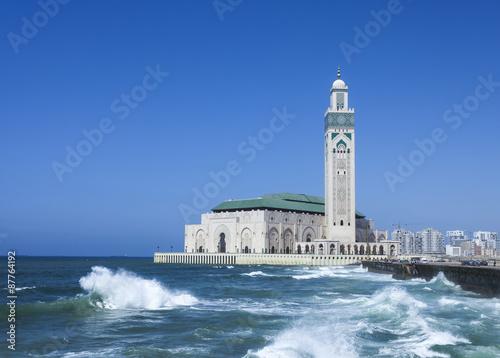 Fotografie, Obraz  Mosque Hassan II in Casablanca