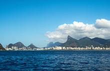 Brazil, Rio De Janeiro, Viwe Of The City From The Guanabara Bay