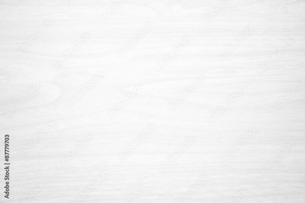 Fototapeta white wood texture for background