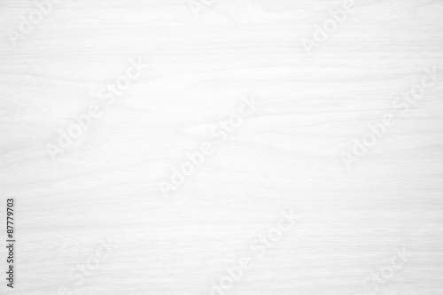 Poster Bois white wood texture for background