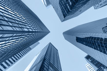 Up View In Financial Districtg