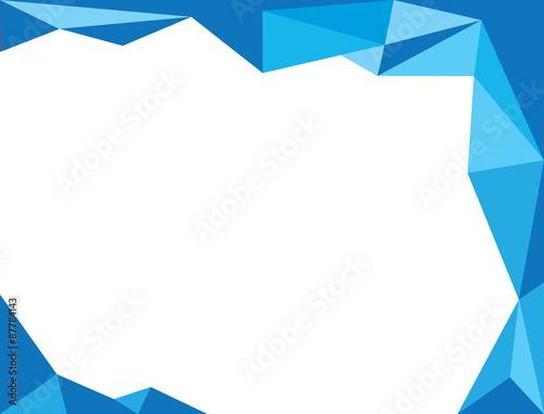 Poster Geometrische dieren background triangle banner