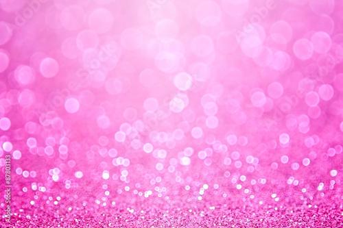 Różowe tło urodziny Baby Girl