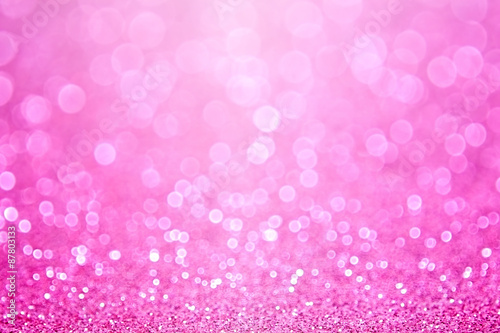 Pink Baby Girl Birthday Background