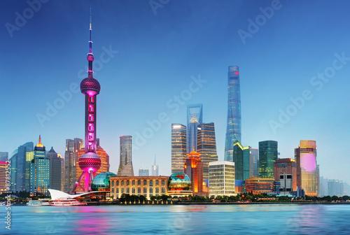 Foto op Aluminium Shanghai Shangahi skyline, China.